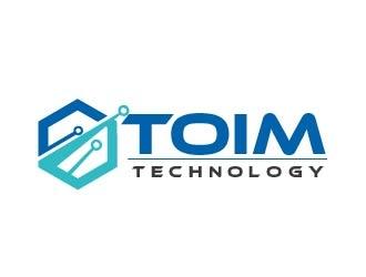 Toim Technology logo design