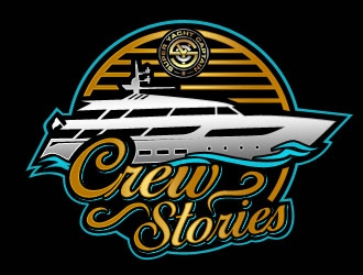 CREW STORIES logo design