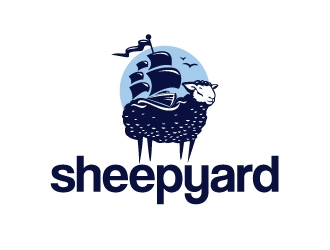 sheepyard logo design