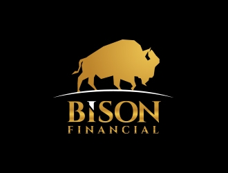 Bison Financial Group, Inc. logo design