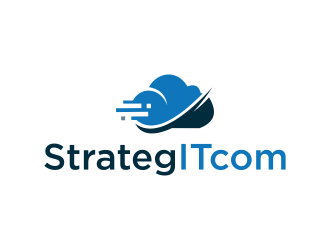 StrategITcom logo design