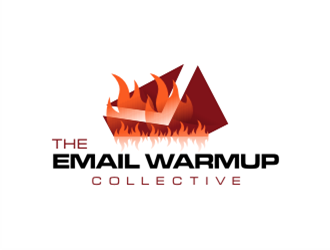 The Email Warmup Collective logo design