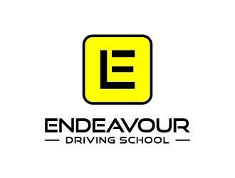 Endeavour Driving School logo design