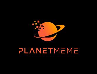 Planet Meme logo design