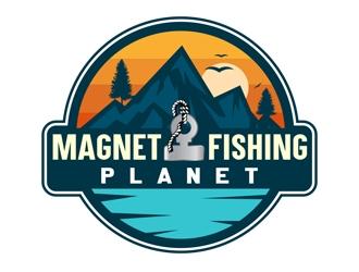 MagnetFishingPlanet.com logo design