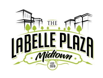 LaBelle Plaza    Midtown logo design