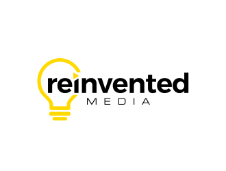 reinvented media logo design