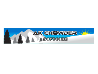 AK Chowder Softcore logo design
