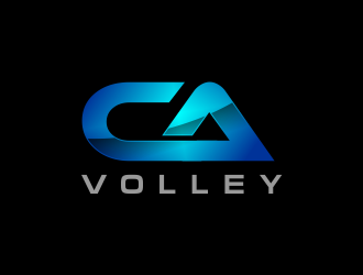 California Volleyball Club logo design winner