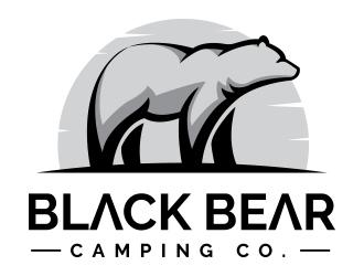 Black Bear Camping Co. logo design winner