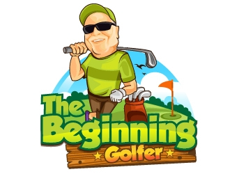 The Beginning Golfer logo design