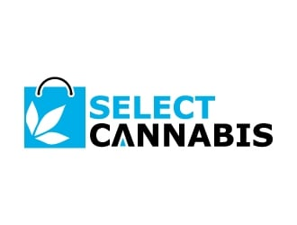 Select Cannabis OR Select Cannabis Co. logo design