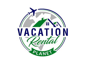 Vacation Rental Planet logo design