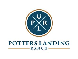 Potters Landing Ranch logo design winner