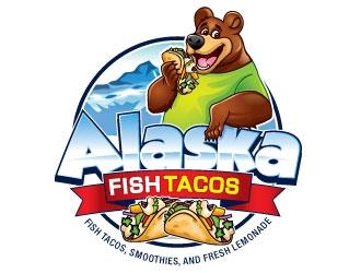 Alaska Fish Tacos  logo design by invento