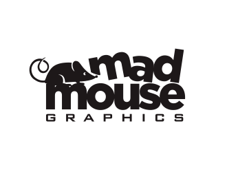 Mad Mouse Graphics logo design