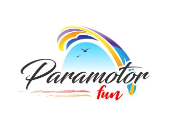 Paramotor Fun logo design