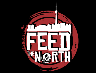 Feed The North logo design by YONK