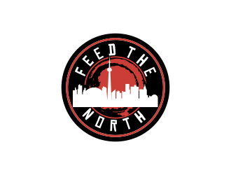 Feed The North logo design by oke2angconcept