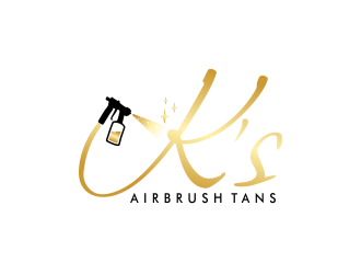 Ks Airbrush Tans logo design