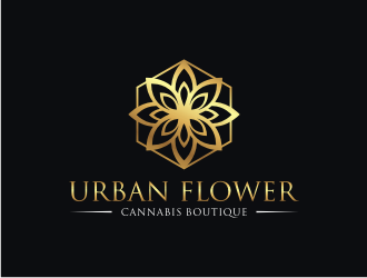 Urban Flower Cannabis Boutique logo design winner