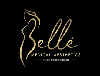 Bellé Medical Aesthetics logo design