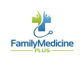 family medicine plus logo design