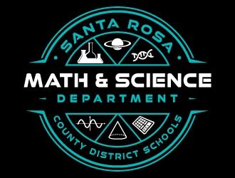 Santa Rosa County District Schools - Math & Science Department logo design