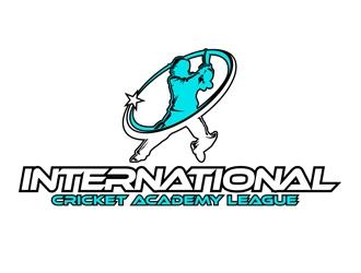International Cricket Academy League logo design winner