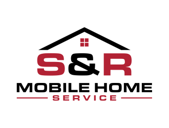 S&R Mobile Home Service logo design