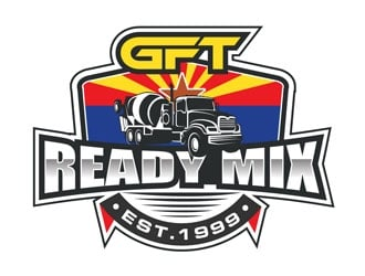 GFT Ready Mix  logo design