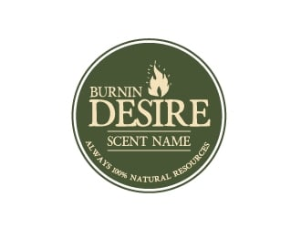 Burnin Desire logo design
