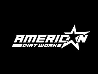American Dirt Works LLC logo design