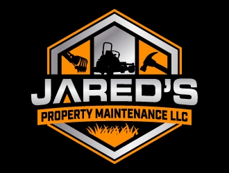 Jareds Property Maintenance LLC logo design