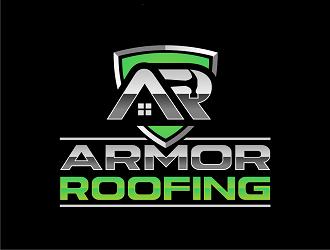 Armor Roofing  logo design