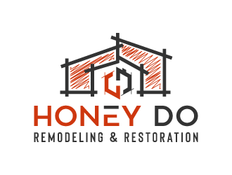 Honey Do Remodeling & Restoration logo design