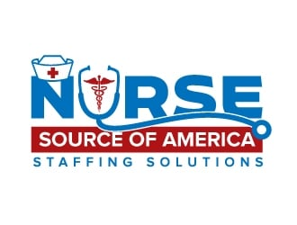 Nurse Source of America logo design winner