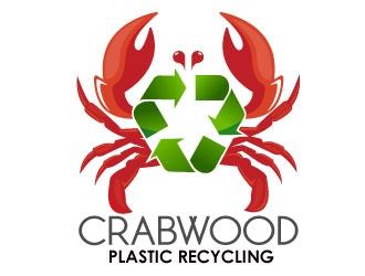 CrabWood   / company name: Meltin Vaste logo design winner