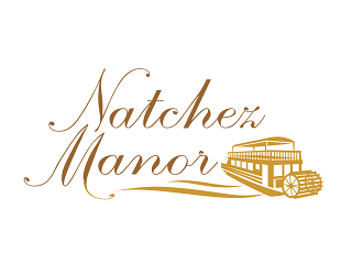 Natchez Manor logo design