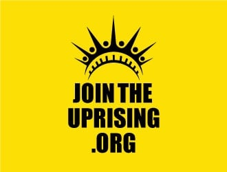 JoinTheUprising.org logo design
