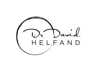 Dr David Helfand logo design