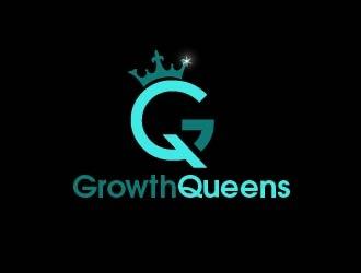 Growth Queens logo design