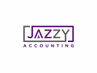 Jazzy Accounting logo design