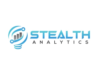 Stealth Analytics logo design