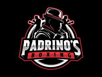 Padrinos Boxing  logo design