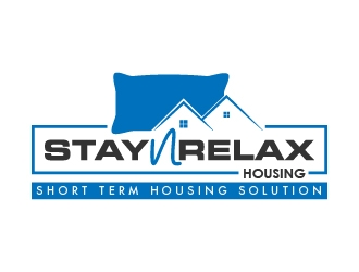 Stay N Relax Housing logo design