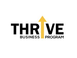 Thrive Business Progam logo design