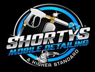 SHORTIES MOBILE DETAILING logo design winner
