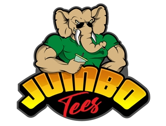 Jumbo Tees logo design