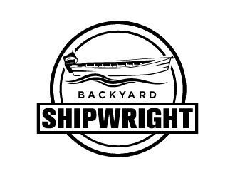 Backyard Shipwrights  logo design